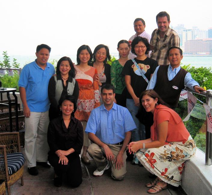 Team in Hong Kong